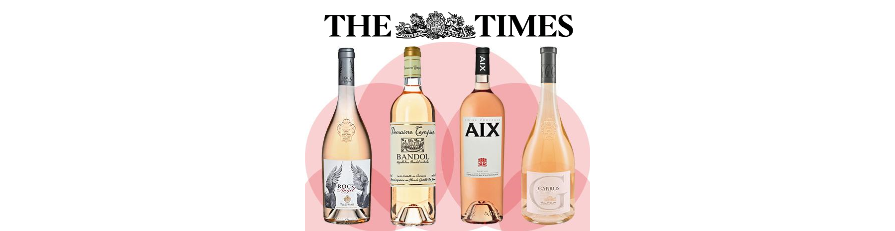 "THE TIMES - ""Drink Pink! The 30 Best Rosé Wines"" Jane MacQuitty"