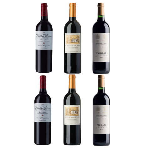 Bordeaux Red 2015 Mixed Case - 6 bottles