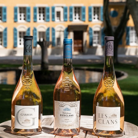 The Chateau d'Esclans LIMITED EDITION case