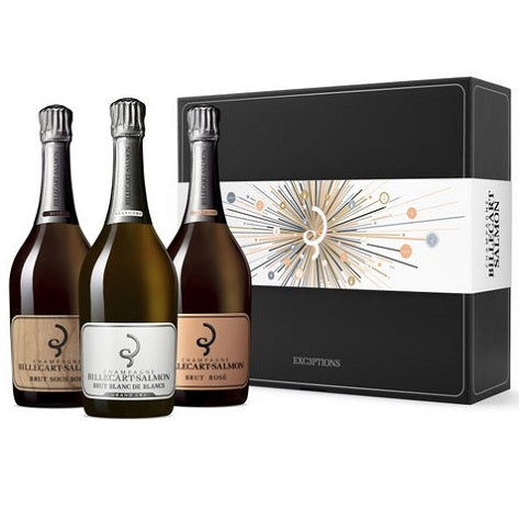 Billecart Salmon Champagne Trio Case - Fine Wine