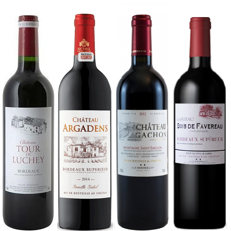 Bordeaux Collection 12 Reds Wine Case