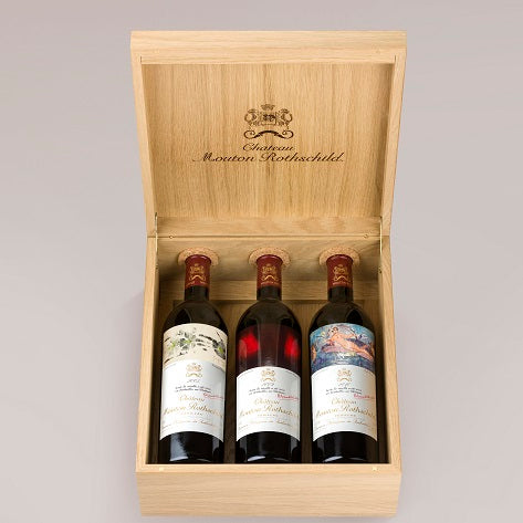 Mouton Rothschild Special Case 3 bottles - 2005, 2009 & 2010