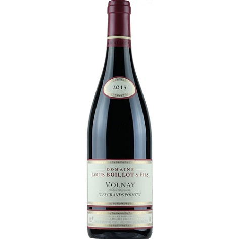 Volnay 2015, Grands Poisots, Domaine Louis Boillot