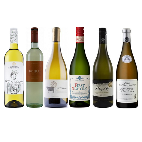 White 6 Mixed Wine Case