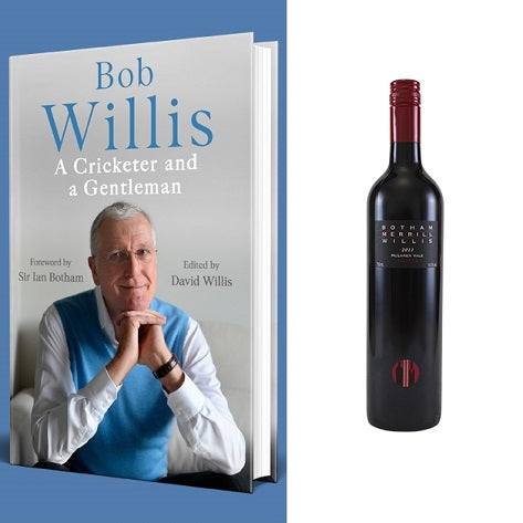Botham, Merrill & Willis 6 Bottle Case Deal + Free Bob Willis Book