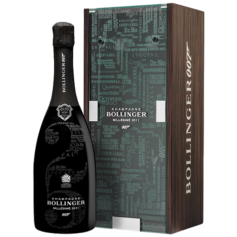 Bollinger 007 Limited Edition Millesime 2011 Champagne