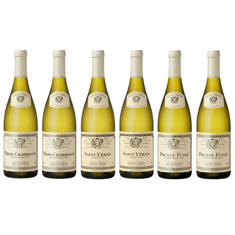 Louis Jadot Burgundy White 6 Mixed Wine Case