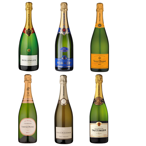 Champagne Mixed Case x 12