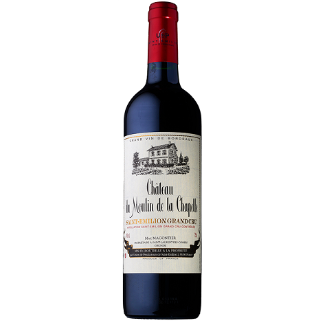 Chateau La Moulin de la Chapelle St Emilion Grand Cru 2012