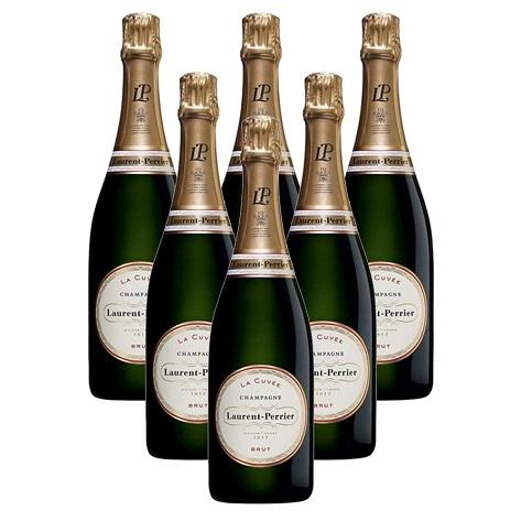 Laurent-Perrier La Cuvée 6 Champagne Case