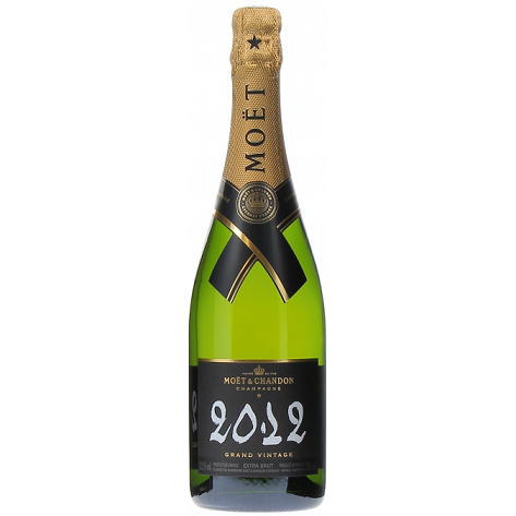 Moët & Chandon Grand Vintage Brut 2012 Champagne Bottle 75cl