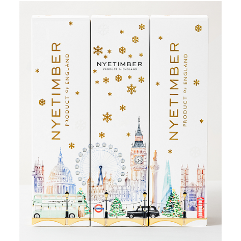 Nyetimber Classic Cuvée NV England - Christmas Edition 3x75cl