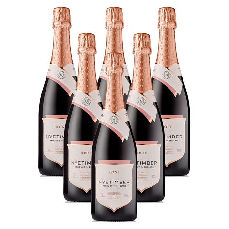 Nyetimber Rose NV 6 Champagne Case
