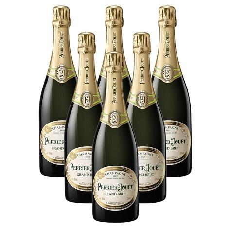 Perrier-Jouët Grand Brut NV 6 Champagne Case