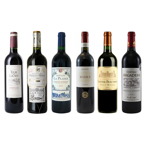 Red 6 Mixed Wine Case