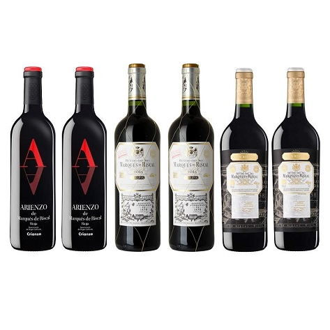 Rioja Red 6 Mixed Wine Case