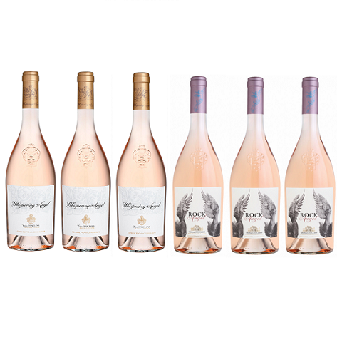 Rosé 6 Premium Mixed Wine Case