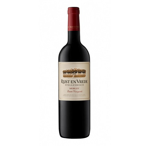 Estate Vineyards Merlot, Rust en Vrede
