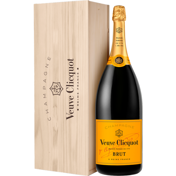 Veuve Clicquot Brut NV Champagne - 6L Methuselah - Wooden Case - Private Sale