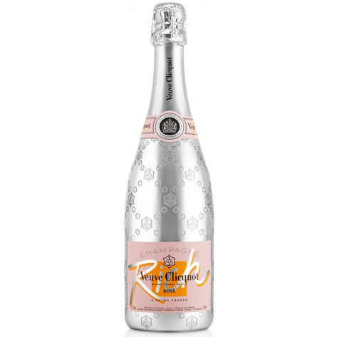 Veuve Clicquot Rich Rosé Champagne Bottle 75cl