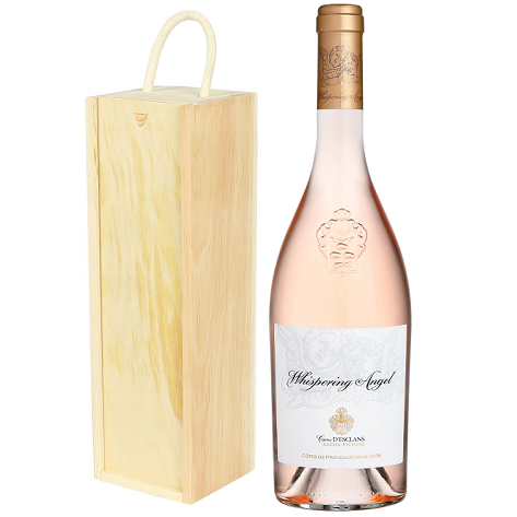 Whispering Angel Rosé 2019 + Wooden Gift Box