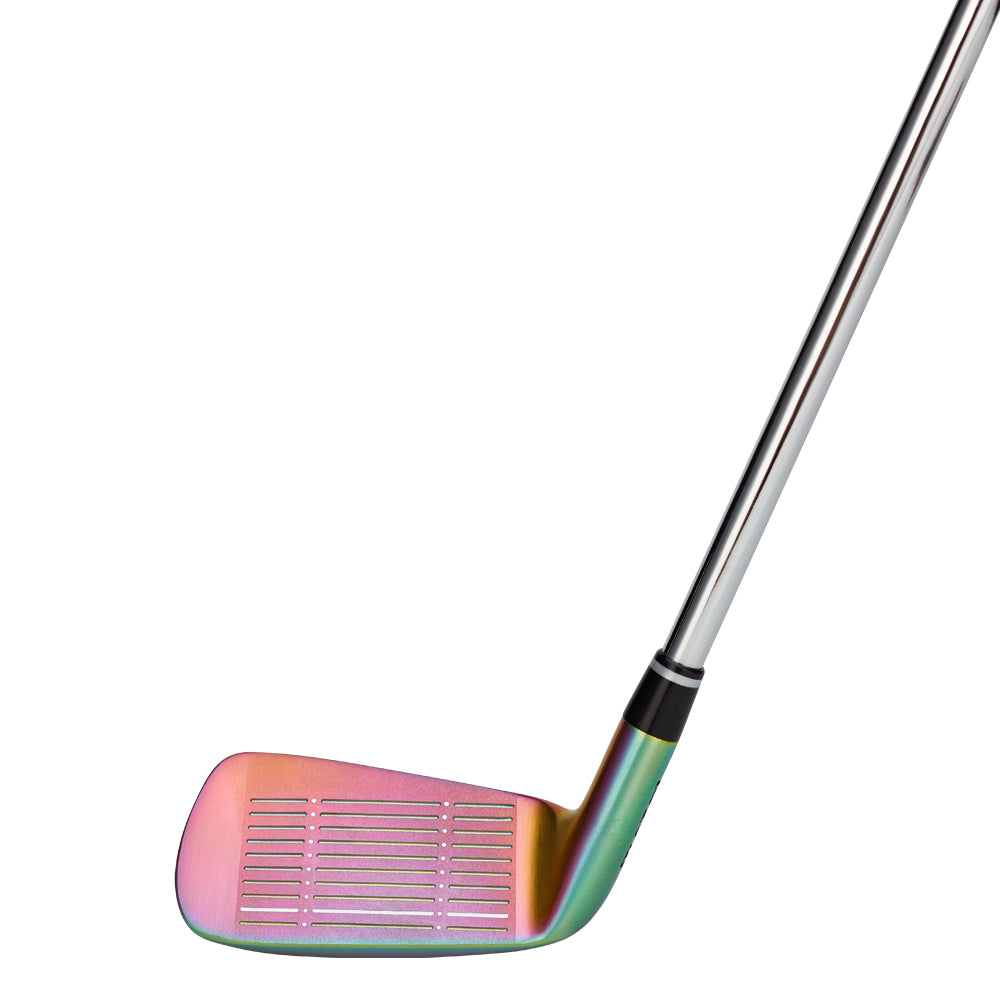 MAZEL Golf Clubs Men & Women Colorful Stainless Steel Chipping Wedge Golf Club Steel Shaft 45 Degree-01