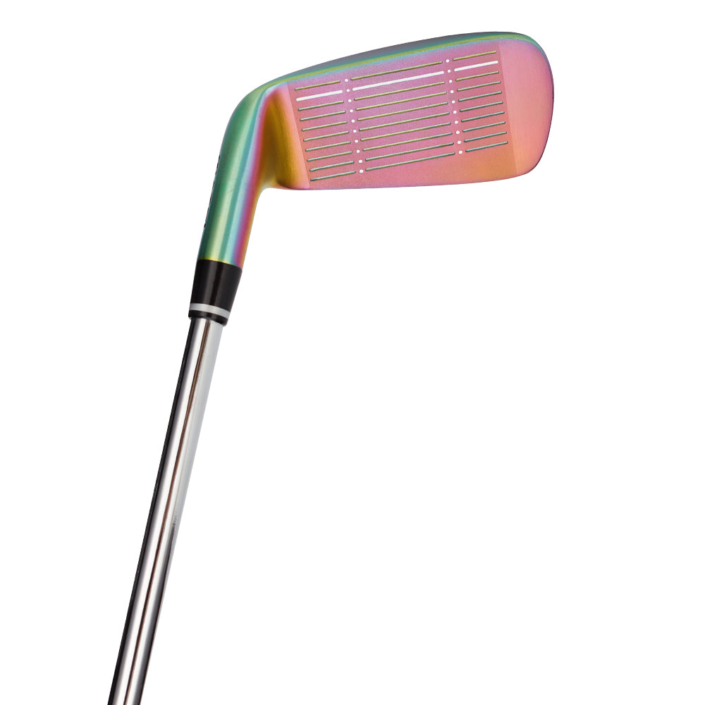 MAZEL Golf Clubs Men & Women Colorful Stainless Steel Chipping Wedge Golf Club Steel Shaft 45 Degree-02
