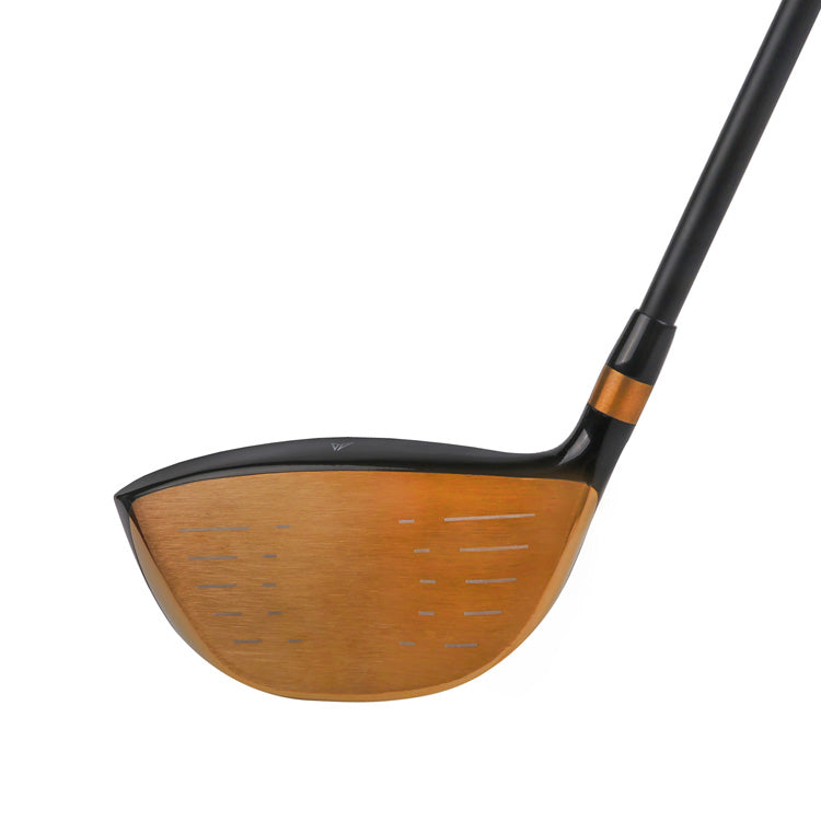 MAZEL Golf Driver-Golden RH 9.5 Degree Regular Flex-001
