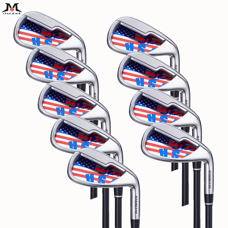 MAZEL-Golf Clubs Golf Irons set Single Length-001