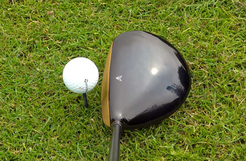 MAZEL Golf Driver-Golden RH 9.5 Degree Regular Flex-009