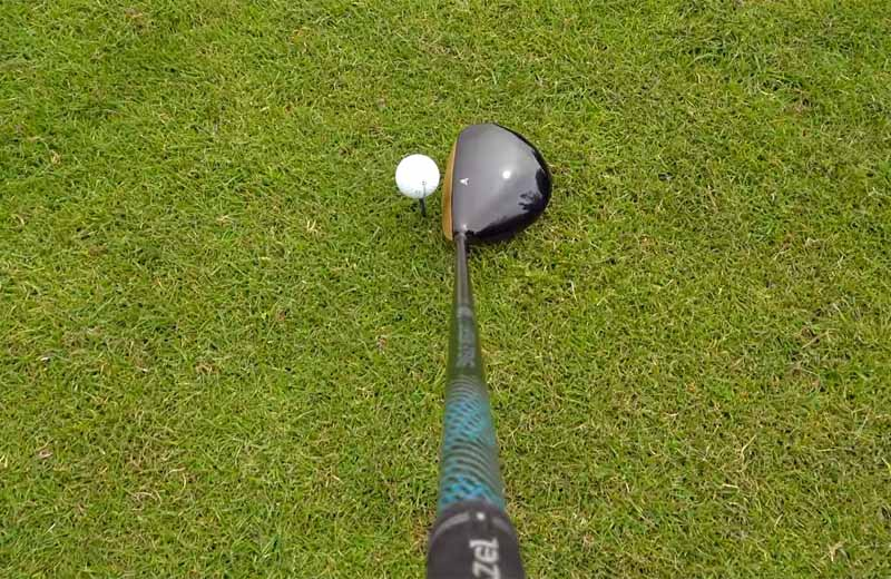 MAZEL Golf Driver-Golden RH 9.5 Degree Regular Flex-012