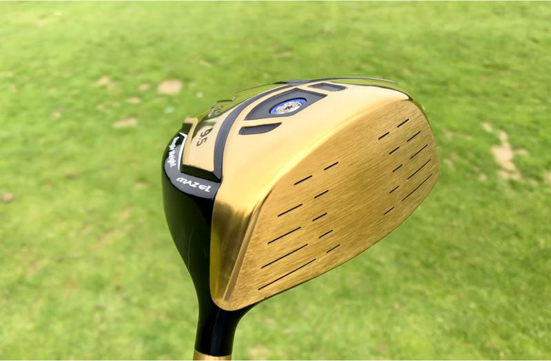 MAZEL Golf Driver-Golden RH 9.5 Degree Regular Flex-007