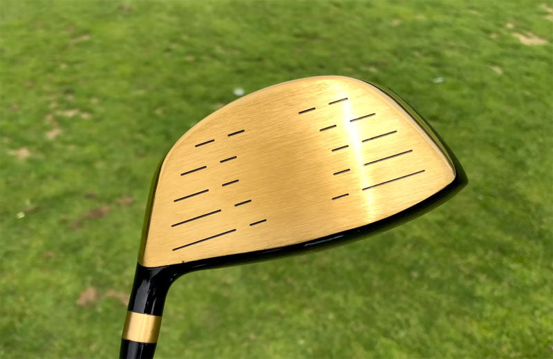 MAZEL Golf Driver-Golden RH 9.5 Degree Regular Flex-008