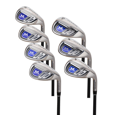 MAZEL Single Length Golf Club Irons Set 6-SW(7Pieces),Right Handed