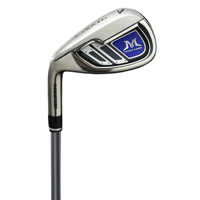 MAZEL Single Length Golf Club Irons Set 4-SW(9 Pieces),Left Handed,Graphite Shaft,Middle (SR) Flex