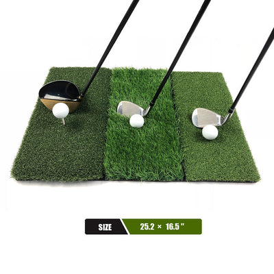 Mazel 3-in-1 Golf Hitting Mat