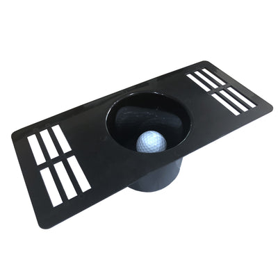 MAZEL Indoor Golf Practice Hole for Putter Golf Putting Cup Mat for Home Training Tool
