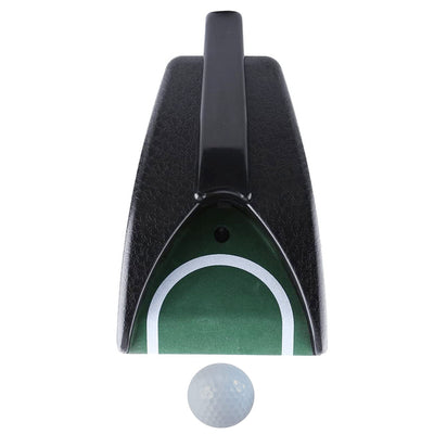 Mazel Golf Return Putting Mat Automatic Return Golf Cup Pratice Training Cup Training aid