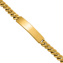 Cuban Bracelet in 14k Yellow Gold 33.83 Ctw