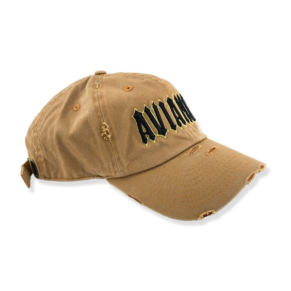 Avianne Brown Distressed Cap