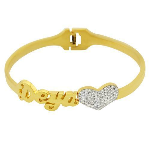 14K Yellow Gold Diamond Bracelet 1.75ctw