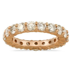 Diamond Eternity Band in 14k Rose Gold 3.88 Ctw