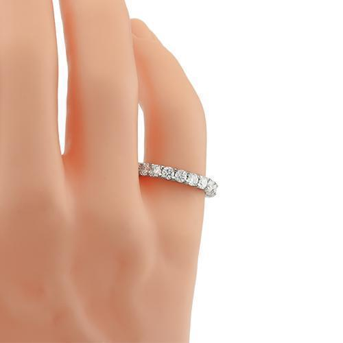 Diamond Eternity Band in Platinum 3.25 Ctw