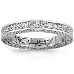 Platinum Womens Diamond Eternity Band 3.00 Ctw