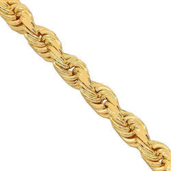 10K Yellow Gold Fancy Chain 3 mm