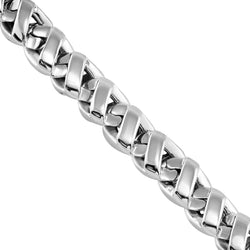 14k White Gold Avianne Link Chain 7 mm