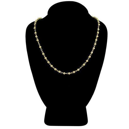 14K Yellow Gold Ball Bead Chain 3mm