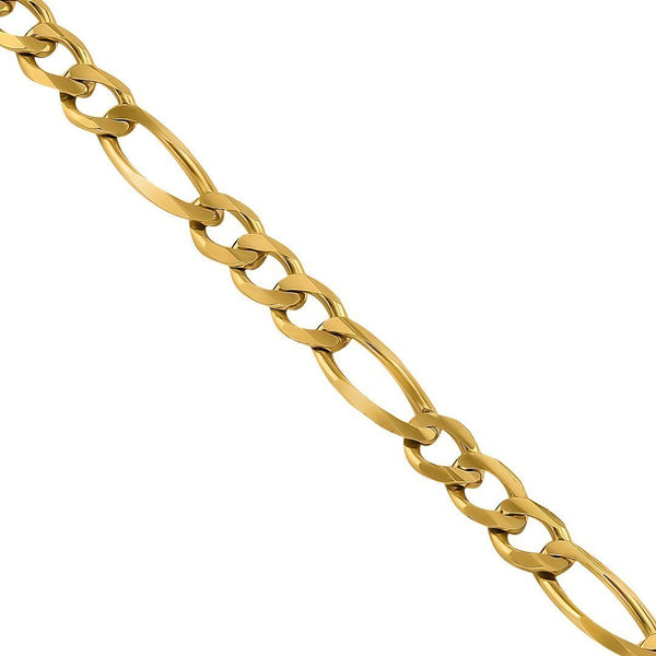 14k Yellow Gold Figaro Link Chain 5.75 mm