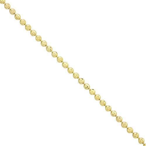 Ball Chain in 10k Yellow Gold 2.5 mm