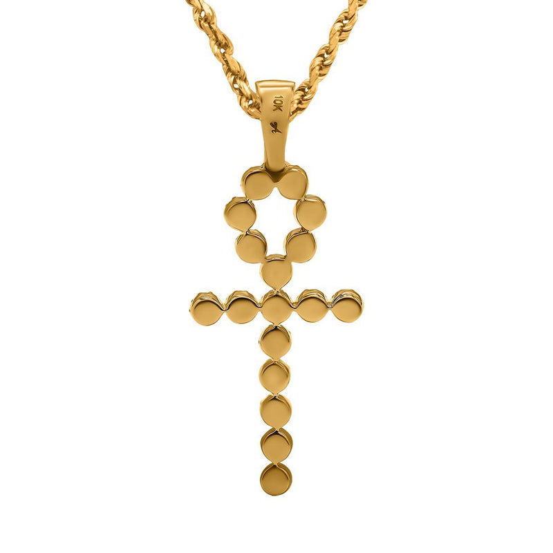 Yellow 14k Yellow Gold  Ankh Pendant